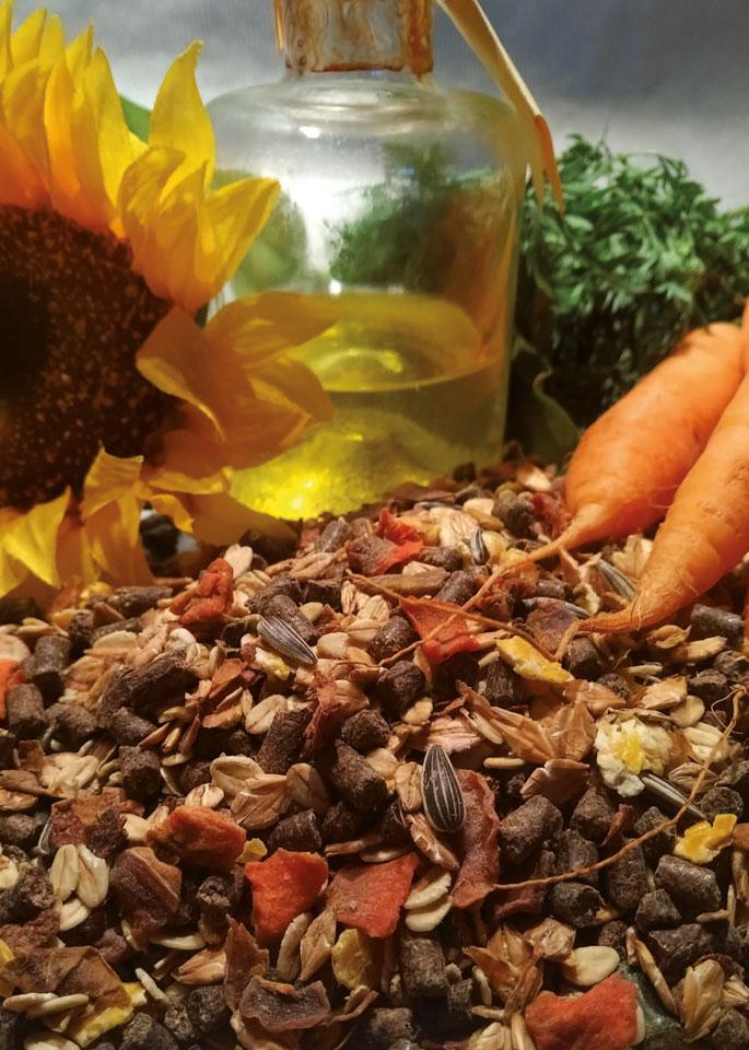 Zucht- und Fohlenfutter ohne Melasse