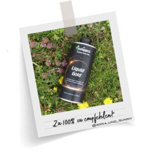Liquid Gold von Eohippos - Kürbiskernöl leinöl Haselnussöl für Pferde
