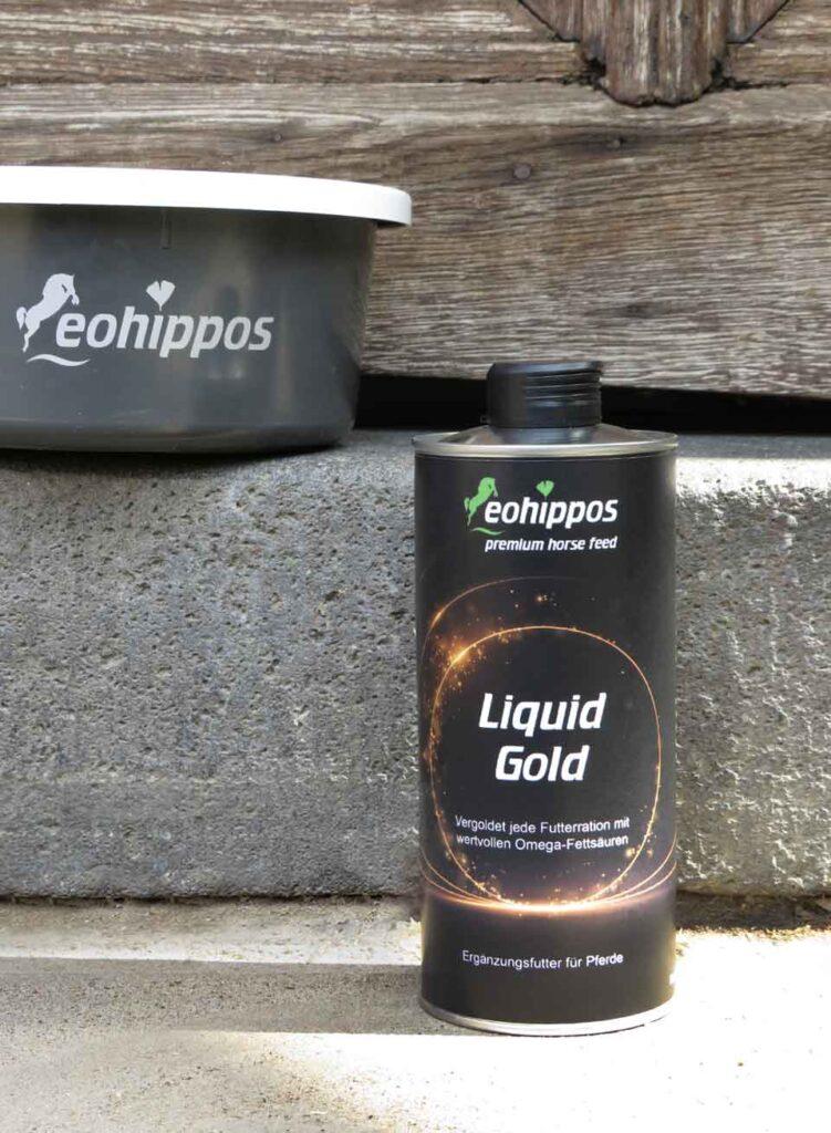 Eohippos Pferdefutter - Liquid Gold - Hochwertiges Öl für dein Pferd