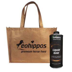 Liquid Gold - öl für dein Pferd - Tasche Limited Edition Siri
