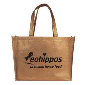 Eohippos Pferdefutter - Tasche kupfer für Pferdefutter, Schabracken oder Leckerli